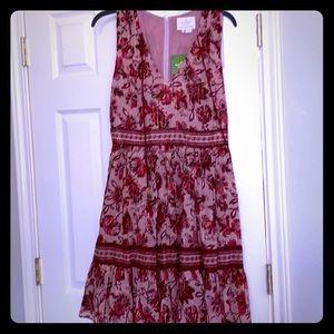 Kate Spade Paisley Blossom Mini Dress size 6 NWT
